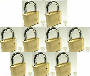 Lock Brass Master Combination 175 lot 9 4 Dial Resettable High Security