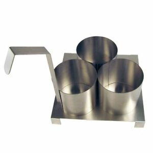 Funnel Cake Mold Ring With Base Plate 4 1 2 inch
