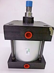 New Speedaire 6 Bore Double Acting Air Cylinder 2 1 2 Stroke 5tec9