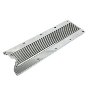 Gm Ls1 Ls6 Polished Finned Aluminum Engine Valley Cover Chevrolet Gen Iii iv