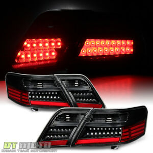 For 4pc Black 2007 2008 2009 Toyota Camry L le se xle Led Tail Lights Left right
