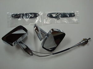 1967 1968 Ford Mustang Remote Mirrors Left Right new deal