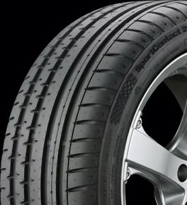 Continental 03509900000 Contisportcontact 2 225 40 18 Xl Tire