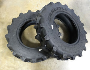 Two 8 16 Carlisle Farm Specialist R 1 6 Ply Tractor Tires Compact 4wd s 570002