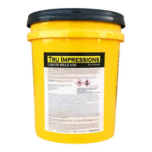 Walttools Liquid Release For Concrete Stamps Countertop Forms Tools 5 Gal