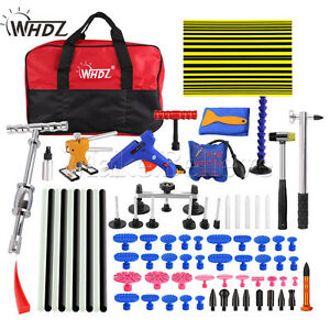 Set Pdr Tools Paintless Hail Repair Dent Puller Lifter Auto Body Removal Kits