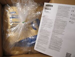 Case 1000 Kimberly clark Hc220 56805 Cleanroom Pure G5 Latex Gloves Small 2019