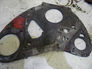 Farmall 400 Tractor Front Engine Plate
