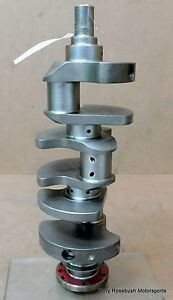 Brc Chevy 90 V6 Billet 4340steel Crank Std std 350 Main Bbc Rod 2 75 Strk