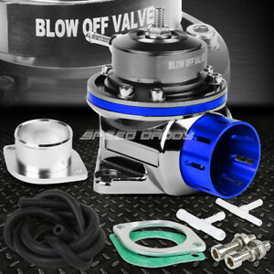 Universal Rotatable Top Hat Aluminum Type Fv Psi Turbo Blow Off Valve Bov Blue