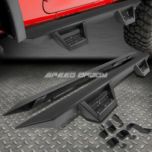 For 05 20 Tacoma Double Crew Cab 3 Side Bar Nerf Running Boards down Step Pad
