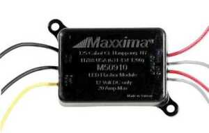 Maxxima M50910 Led Flasher Control Module 12v