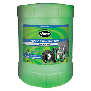 Tire Sealant bucket 5 Gal Slime Sdsb 5g