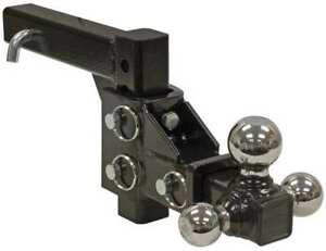 Buyers Products 1802225 Triple Hitch Ball Black Powder Coat