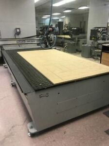 Multicam 1000 Series Cnc Router 5 x10 Table Multi vision Scanner Tangential