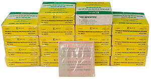 Nib Esco 2951 d Double Frosted Microscope Slides 18 Boxes