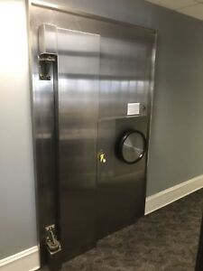 Diebold Bank Main Vault Door Stainless Steel W Time Lock