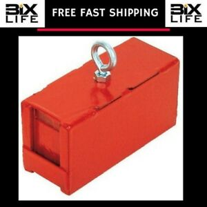 Heavy duty Retrieving And Holding Magnet 5 Length 2 Width 2 Height 225 Pound