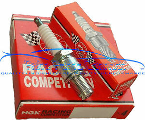 4 Ngk Race Iridium Spark Plugs 1 Step Colder Mitsubishi Lancer Evo Evolution 9