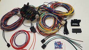 Oldsmobile Cutlass Chevrolet Car Wire Harness Universal Wiring Kit Plugs
