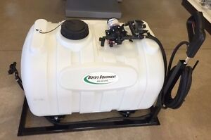 60 Gallon Skid Sprayer W 3 Gpm 12 Boomless Spray