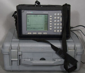 Anritsu Ms2711a Hand Held Spectrum Analyzer power Monitor 100 Khz 3 Ghz opt 5