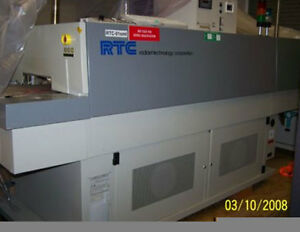 Rtc Radiant Technology Sigma Vi Efc 615 Enhanced Forced Convection Reflow Oven