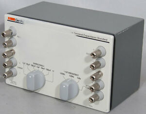 Iet general Radio 1417 4 terminal High Capacitance Standard four Terminal cal