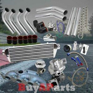 Chrome Intercooler Piping Black Coupler Turbo Upgrade For Volkswagen Bettle 1 8t
