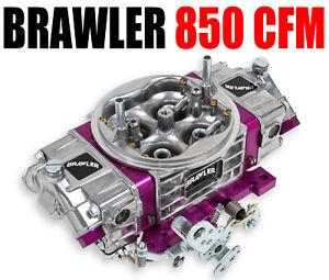 Brawler Quick Fuel Br 67201 850 Cfm Performance Race Carburetor Double Pumper