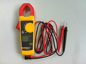 Fluke 302 Pocket Digital Backlit Lcd Clamp Meter Multimeter Us