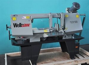 Wellsaw 13 X 18 Scissor type Metal Cutting Band Saw New