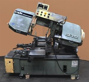 Kysor Johnson Amada 10 Horizontal Automatic Band Saw Ha 250