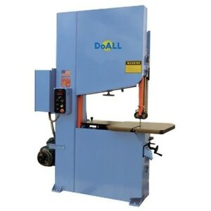 New Doall 35 1 4 High Velocity High Production Band Saw Model Zv 3620