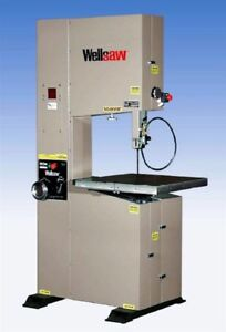Wellsaw 20 X 24 Metal Working Vertical Band Saw Model V 20 24 New