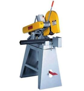 Everett 14 16 Abrasive Cut off Saw With Mag Starter And Stand New