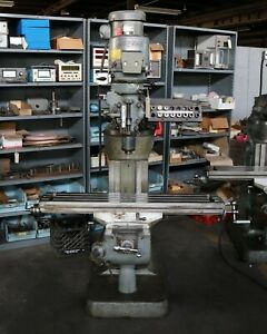Bridgeport 9 X 48 Vertical Milling Machine Series 1