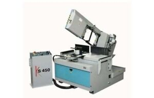 Kmt Saw Ks450 14 Semi automatic Band Saw New Bandsaw