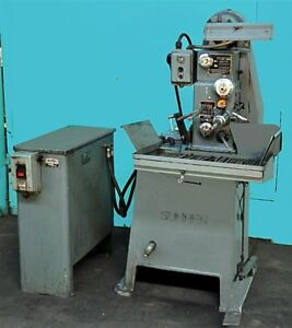 Sunnen Mbb 1600 Honing Machine With Grit Guard Oil Filter System