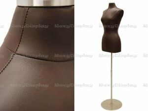 Female Jersey Form Size 6 8 Brown Pu Leather Cover jf f6 8pu bn bs 04