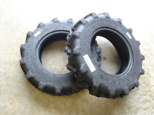 Two 6 12 Carlisle Farm Specialist R 1 6 Ply Tires Made For 4wd Compact Tractors