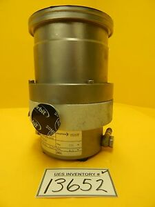 Tph 240 Pfeiffer Pm P01 320b Turbomolecular Vacuum Pump Turbo Used Working