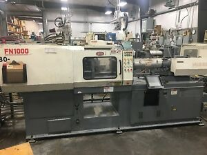 1996 Nissei Fn1000 88 Ton Injection Molding Machine
