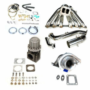 Fits Is300 Sc300 Supra Mk4 2jzge T4 Top Mount Manifold Turbo Charger Kit