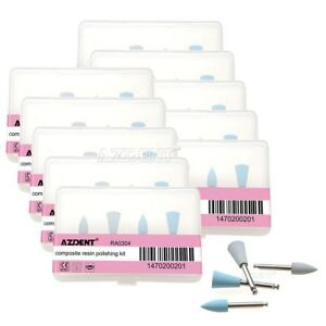 20 Kits Dental Composite Resin Silicone Polishing Kit Ra0304 For Low speed