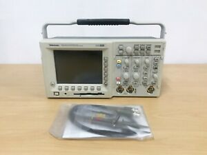 Tektronix Tds3012 100mhz 1 25gs s 2ch Oscilloscope With P6100 Probes