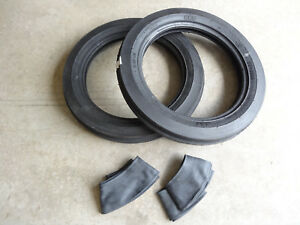 Two 4 00 19 Bkt Tf9090 Tri rib 3 Rib Front Tractor Tires With Tubes 8n 9n Ford