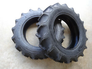 Two New 6 14 Regency Ag Lug G 1 Tractor Tires 4 Ply Tubeless