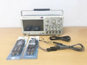 Tektronix Mso3014 100mhz 2 5gs s 4ch Oscilloscope With P6316 P6139b Probes