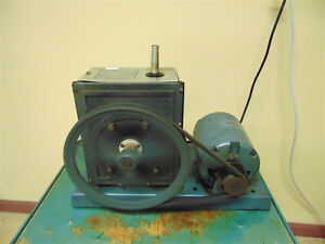 Welch Scientific Vacuum Pump 1 2hp 1725 Rpm 115v Has Good Suction Sr283